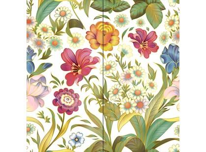 Halcon Ceramicas Flowers Panno White