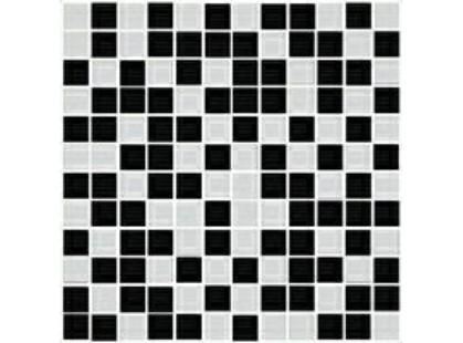 Halcon Ceramicas Ispira Energy Mosaico Black-Blanco