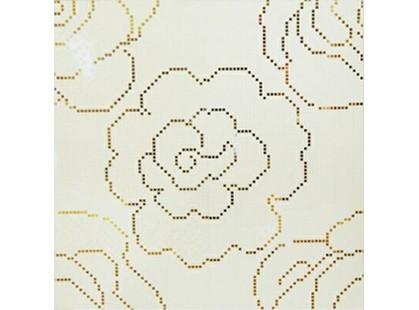Halcon Ceramicas Ispira Rosas Mosaico Gold