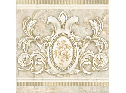 Halcon Ceramicas Prestige Cenefa Roseton Crema