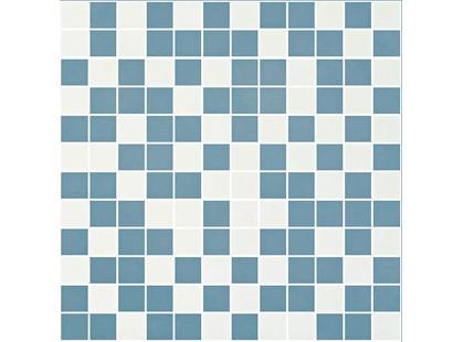 Halcon Ceramicas Style Mosaico Marfil-Turquesa