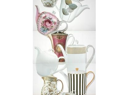Halcon Ceramicas Teteras Decor Blanco Brillo
