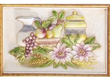 Herberia Mistral Formella Fruttiera Tabaco
