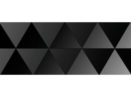 Ibero Black & White Décor Triangle  Black