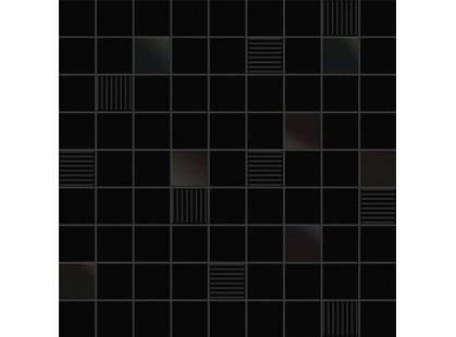 Ibero Black & White Mosaico Cubic Black