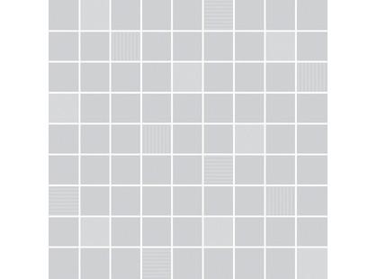 Ibero Fusion white grey Fusion Grey Mosaico