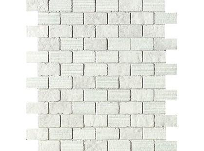 Impronta italgraniti Square Wall Bianco Mos. Mix A Spacco