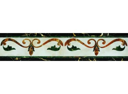 Infinity Ceramic Tiles Castello Fronzola Cenefa Crema