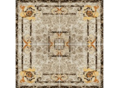 Infinity Ceramic Tiles Dell Imperatore Roseton Light