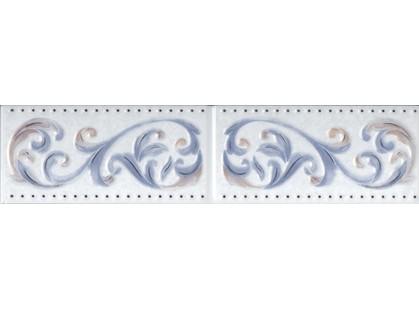 Infinity Ceramic Tiles Eden Cenefa Azul