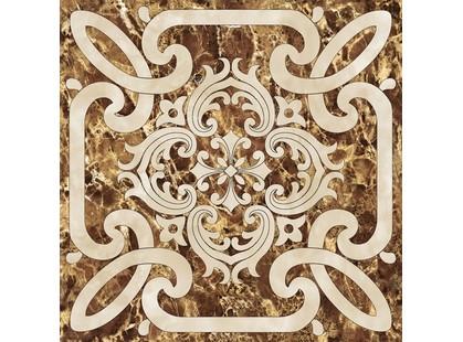 Infinity Ceramic Tiles Imperiale Decor Marron 1