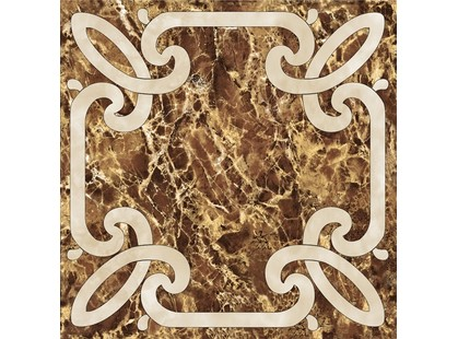 Infinity Ceramic Tiles Imperiale Decor Marron 2