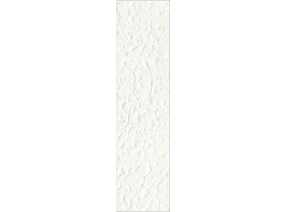 Infinity Ceramic Tiles Lava / Luxor / Palas Cenefa Togila Blanco