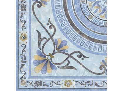 Infinity Ceramic Tiles Marmol Roseton Azul