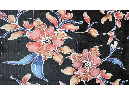 Infinity Ceramic Tiles Mosaicos Tentazione Mosaico Nero