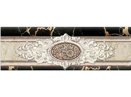 Infinity Ceramic Tiles Portoro Marmol Cenefa