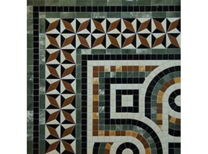 Infinity Ceramic Tiles Ravenna Angolo Decor Marron