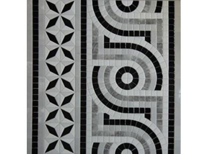 Infinity Ceramic Tiles Ravenna Cenefa Nero