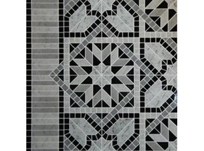 Infinity Ceramic Tiles Ravenna Medix Cenefa Nero