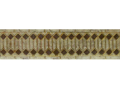 Infinity Ceramic Tiles Rimini Listello Beige