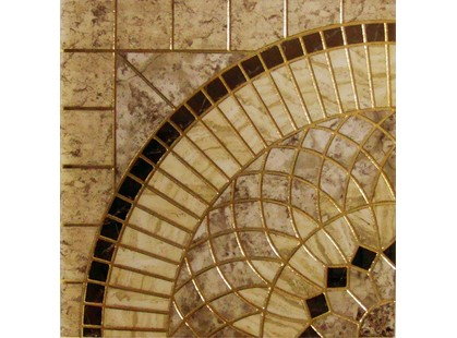 Infinity Ceramic Tiles Rimini Roseton Beige