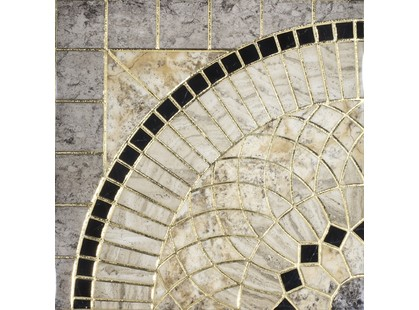 Infinity Ceramic Tiles Rimini Roseton Gris