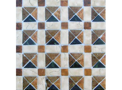 Infinity Ceramic Tiles Royal Mosaico Rojo