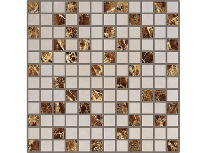 Infinity Ceramic Tiles Savanna Marmol Aries Savanna Emperador Mosaico
