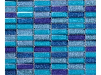 Intermatex Glass Mosaico Malla Blue Sky