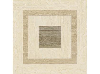 Italon Travertino Floor Project Navona Inserto Day