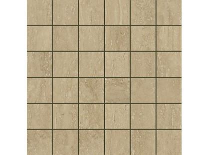 Italon Travertino Floor Project Noce Mosaico