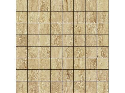 Italon Travertino Floor Project Romano Mosaico Lux