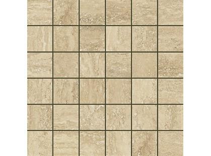 Italon Travertino Floor Project Romano Mosaico