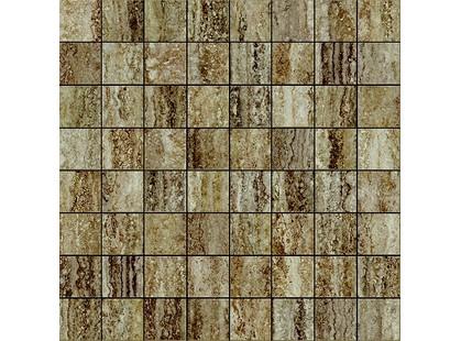 Italon Travertino Floor Project Silver Mosaico Lux