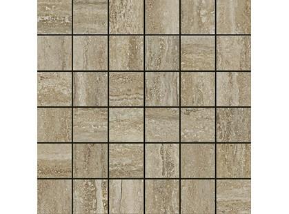 Italon Travertino Floor Project Silver Mosaico
