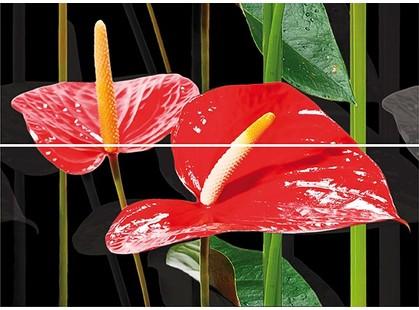 Keraben Dream Calas, Lirio, Flor Rojas Decor (2 pz)