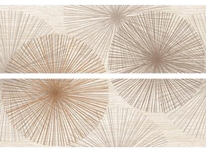 Keraben Velvet Bloom Crema Composition (2 плитки)