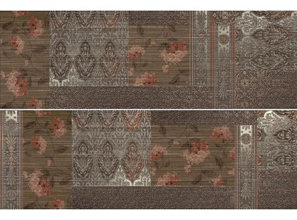 Keraben Velvet Décor Patchwork Marron (set2)
