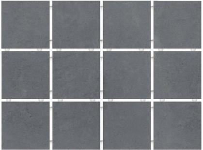 Kerama Marazzi Амальфи 1290 Серый Темный Полотно (30х40 из 12 частей)