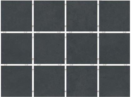 Kerama Marazzi Амальфи 1291 Черный Полотно (30х40 из 12 частей)