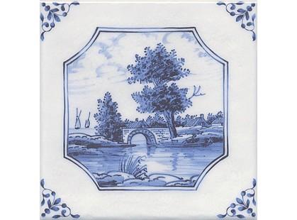 Kerama Marazzi Английский Делфт 5224\3F Английский Делфт Мост