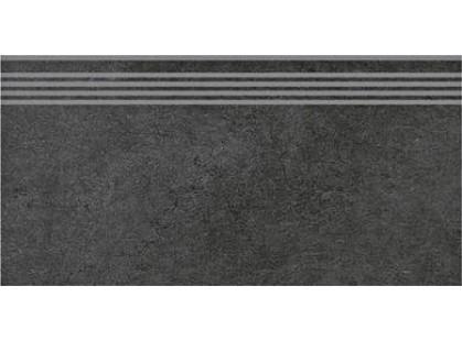 Kerama Marazzi Дайсен SG211300R\GR  Черный обрезной (гранит)