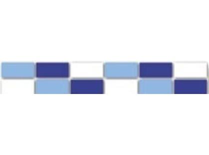 Kerama Marazzi Гармония 075 Мозаичный Сине-Белый
