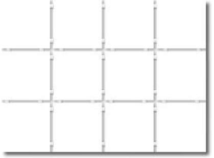 Kerama Marazzi Итон 1230 | Конфетти белый, полотно 30х40 из 12 частей