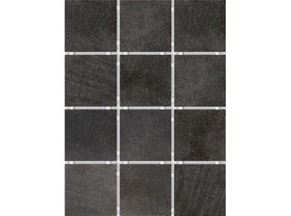 Kerama Marazzi Караоке 1222T Черный  (полотно из 12 частей 9.9x9.9)