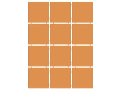 Kerama Marazzi Конфетти 1148    коричневый блестящий, полотно 30х40 из 12 частей 9,9х9,9 Глянцевая