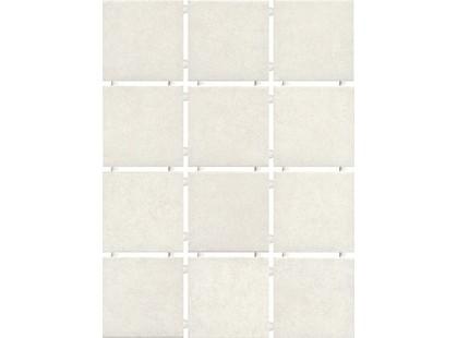 Kerama Marazzi Корсо 1251 Белый, Полотно 30х40 из 12 частей 9,9х9,9 Матовая