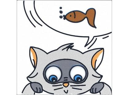 Kerama Marazzi Кошки мышки NT\A133\5009 Рыбка