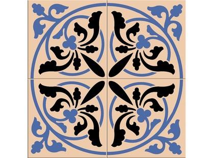 Kerama Marazzi Ливерпуль 1526 Розон 1/4 Сине-черный