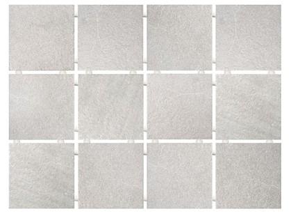 Kerama Marazzi Мартин 1220  Караоке серый, полотно 30х40 из 12 частей 9,9х9,9 Матовая